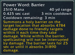Tooltip for PW:B