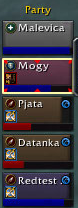 Quieter party UI screenshot