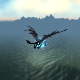Malevica over new Cataclysm Beta water, on Frostbrood Vanquisher