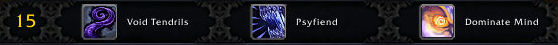 Priest Level 15 Talents (Build 15677)